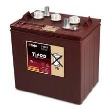 Baterie TROJAN T-105 6v, 225Ah, masina de spalat pardoseli, masina de golf
